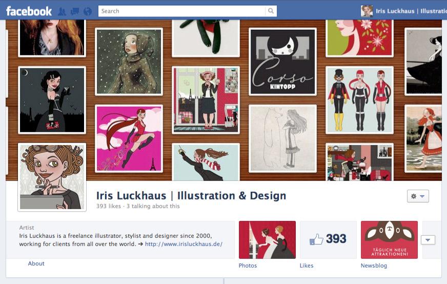 Iris Luckhaus für Facebook Pages
