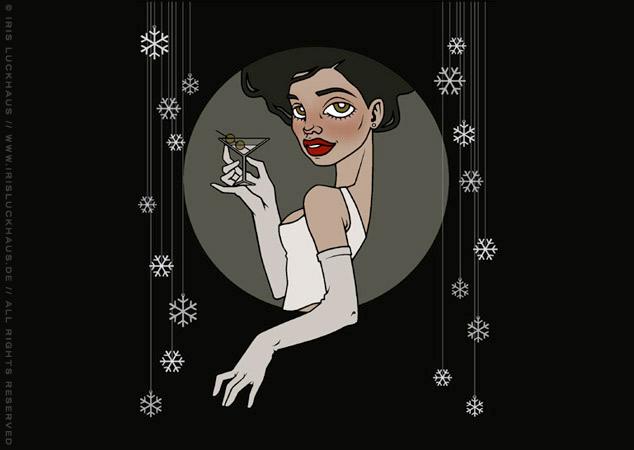Mary Jane In the Mood for Fashion Flyer und Poster für die Label Suite