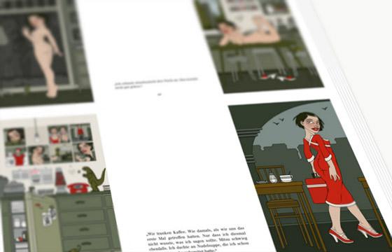 Fotos vom Druck des Buchs Mein Leben mit Mitsu von Marcel Magis und Iris Luckhaus