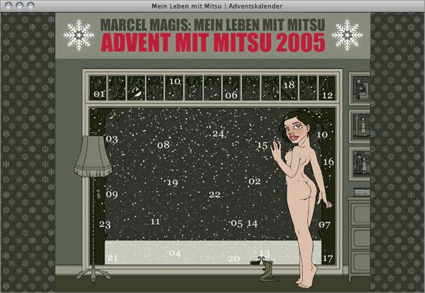 Online-Adventskalender für Mitsu