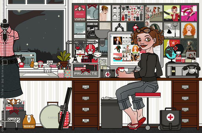 Profilbild im Büro