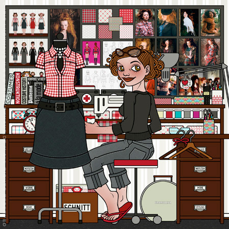 Profilbild für Bekleidung, Modedesign ud Modestyling