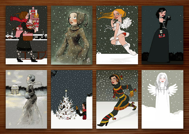 Ten Years of Christmas Cards