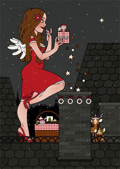 Lily Lux wünscht frohe Weihnachten und ein überglückliches neues Jahr!