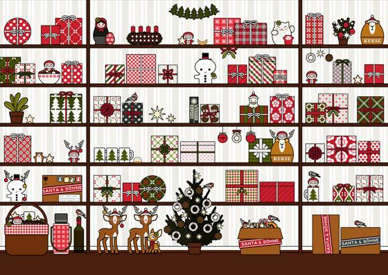Archive mit Figuren und Details für Making Of Lily Lux Weihnachtskarte mit Engelchen