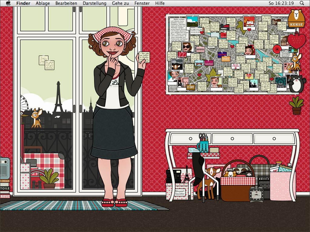 Lily Lux Wallpaper mit Hotelzimmer für den Sommer