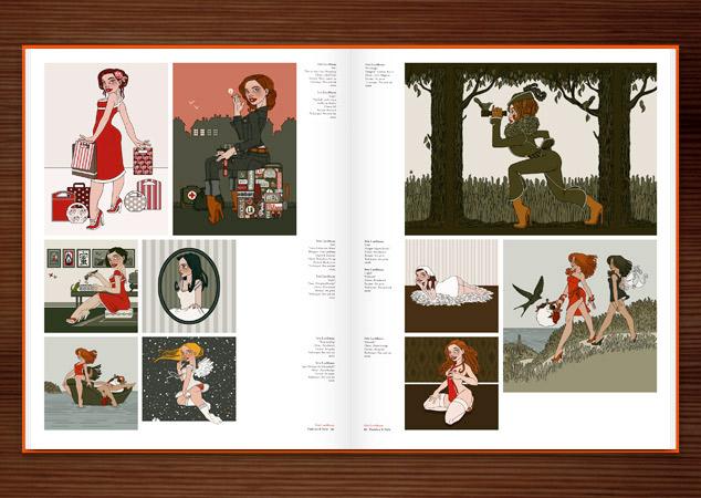 Iris Luckhaus in Illusive II vom Die Gestalten Verlag