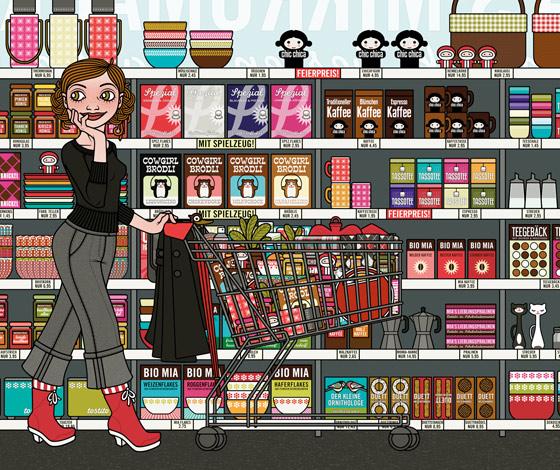 Lily Lux Supermarkt bearbeitet für IO Sedbook