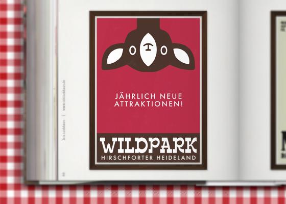 Lily Lux Wildpark im Zeixs Cube Posterdesign