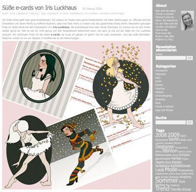 Styles you love mit Nana, Sternatler, Balletmädchen und Sternschnuppe
