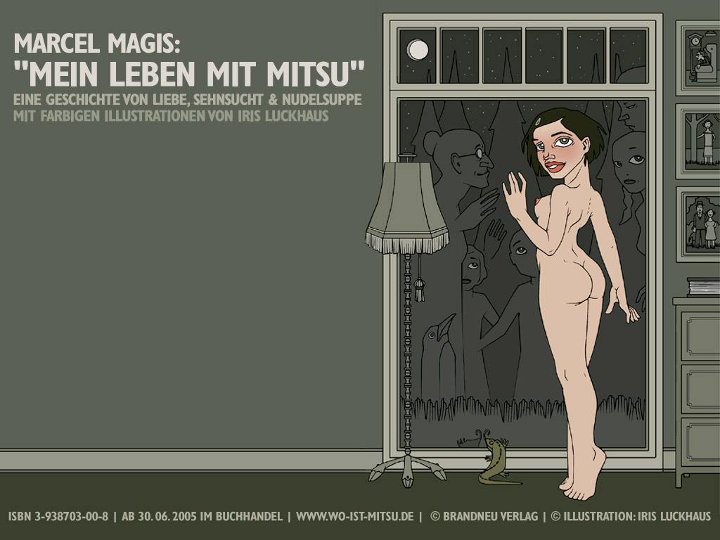 Wallpaper Geisterfenster für die Website zum Buch Mein Leben mit Mitsu von Marcel Magis