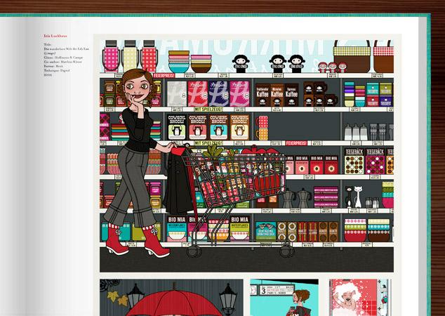 Iris Luckhaus mit Lily Lux in Illusive III vom Gestalten Verlag