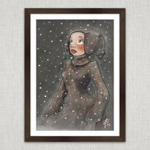 Art Print Winterwonder
