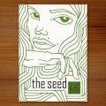 Einladungskarte im Klimt-Stil für The Seed