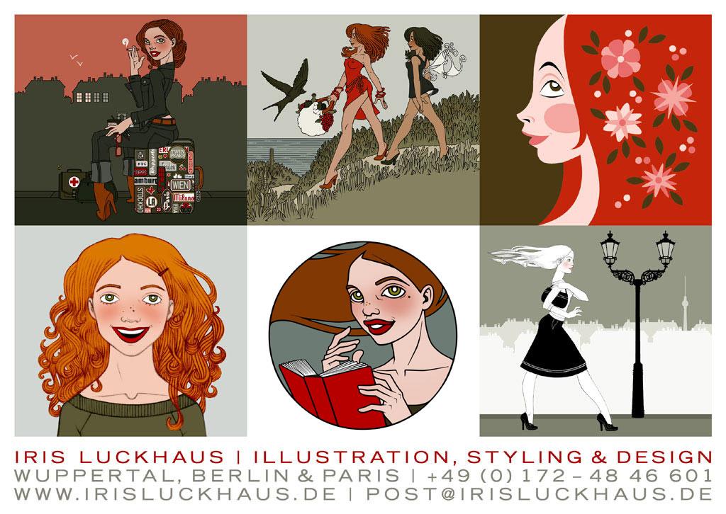 Iris Luckhaus' Visitenkarte im Jitter Magazin