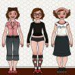 Character Design und Styling für Lily Lux