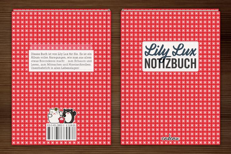 Buch Lily Lux Notizbuch von Iris Luckhaus und Matthias Klesse