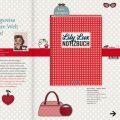 Lily Lux Notizbuch in der Verlagsvorschau