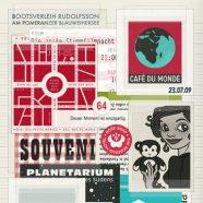 Lily Lux Notizbuch   Sammelalbum mit Souvenirs