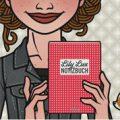 Lily Lux Passbild zum Notizbuch