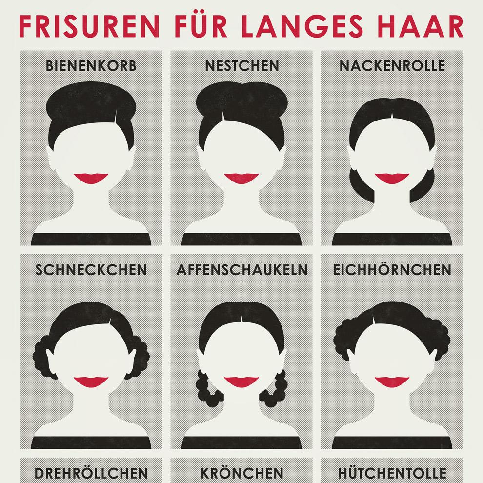 Superkurl Frisuren Iris Luckhaus Illustration Design