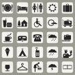 Reisehelfer Icons für Lily Lux
