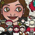 Lily Lux Passbild mit Freunden und Figuren