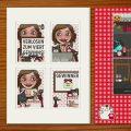 Paket mit Karten und Magneten für die Gewinner bei Lily Lux