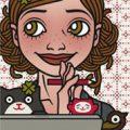 Lily Lux Passbild am Mac