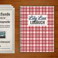 Logbuch und Urkunden für Geocaching mit Lily Lux Notizbuch