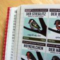 Foto der Singvögel im Lily Lux Notizbuch