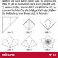 Papierblümchen für Lily Lux