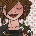 Lily Lux Passbild mit Frühjahrsmüdigkeit