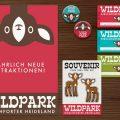 Corporate Identity, Logo und Werbung für Lily Lux Wildpark