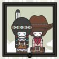 Lily Lux Figuren als Indianer und Cowboy