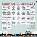 Wallpaper mit Feiertagen im September für Lily Lux