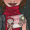 Lily Lux Passbild mit Schnee aus der Tüte