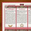 Adventsrezepte im Lily Lux Notizbuch
