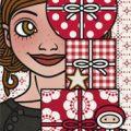 Lily Lux Passbild mit Weihnachtsgeschenken