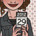 Lily Lux Passbild mit Kalender zum 29. Februar