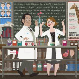 Empathie Labor Brettchen, Plakate und Karten