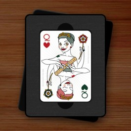 Playing Card Queen Of Hearts