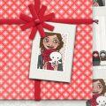 Geschenkanhänger für Lily Lux