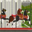 Pferdchenkarussell in Paris