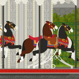 Pferdchenkarussell (Merry Go Round)