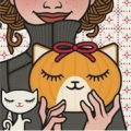 Lily Lux Passbild mit Kürbis als Katze