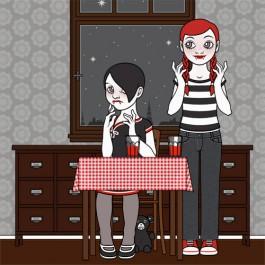 Vampire Girl Violetta Wunderlich