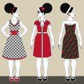 Modeillustration Fashionistas