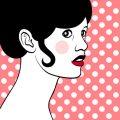 Popart Portrait von Brigitte Bardot