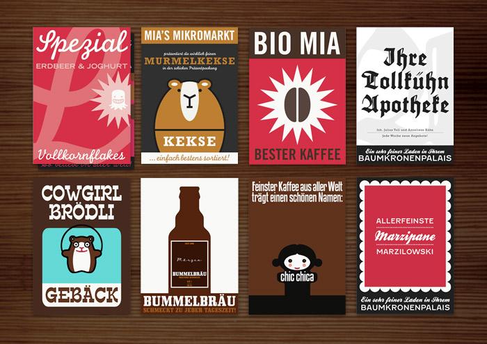 Corporate Identity, Logo und Grafik Design für die liebsten Produkte von Lily Lux